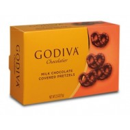 Godiva Milk Chocolate Covered Pretzels