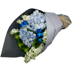 Blue Flowers Bouquet