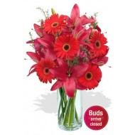 Gerbera and Asiatic Lily Bouquet