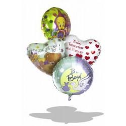One 45cm Happy Birthday Helium Balloon