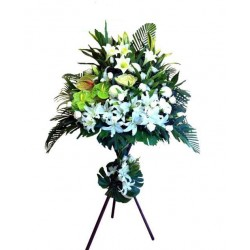 Sympathy Flowers arrangement 1